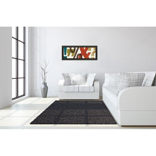 """Classy Art - """"Punctuated Il"""" By Micheal Mullan Framed Print Wall Art"""