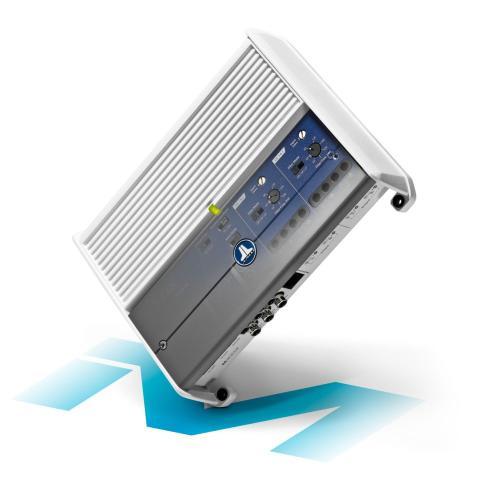JL Audio - 4 Ch. Class D Full-Range Marine Amplifier, 400 W
