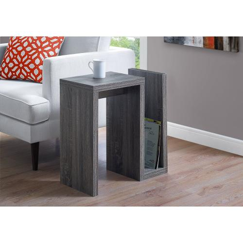 """Gallery - ACCENT TABLE - 24""""H / GREY"""