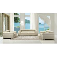 Divani Casa Atlantis - Modern Bonded Leather Sofa Set