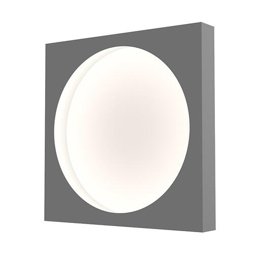 "Sonneman - A Way of Light - Vuoto LED Mount [Size=15"", Color/Finish=Dove Gray]"