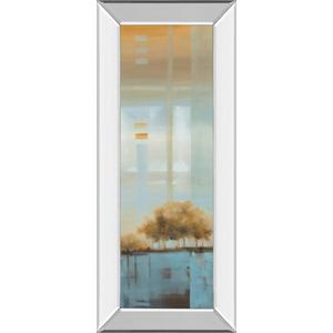 """""""Window On The Word I"""" By Carol Robinson Mirror Framed Print Wall Art"""