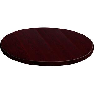 60'' Round Mahogany Veneer Table Top