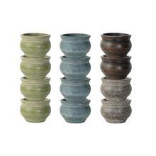 Torcido Plntr Half Pallet 8 pc Assortment- 1 shape4 colors12 ttl pcs