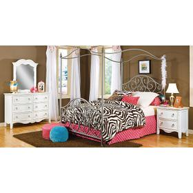 Metal Canopy Bed 4/6