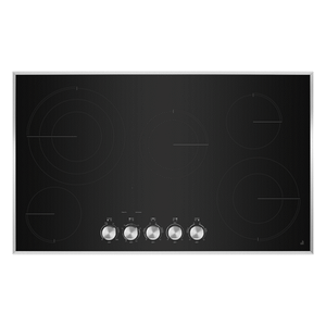 "Jenn-AirLustre Stainless 36"" Electric Radiant Cooktop"