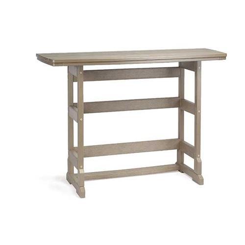 """21"""" x 60"""" Bar Height Terrace Table"""