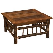 """Open Coffee Table - 42"""" x 42"""" - Barnwood"""