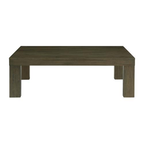 Grady Rectangle Coffee Table in Dark Walnut