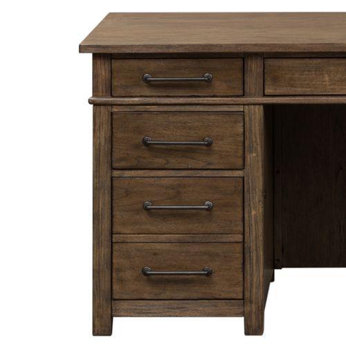 Liberty Furniture Industries - Desk/Credenza Base - Left