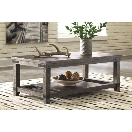 Danell Ridge Rectangular Cocktail Table Brown