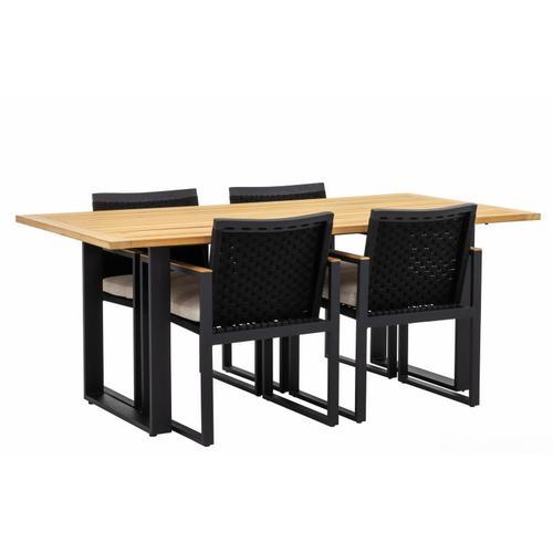 DOMINICA Dining Arm Chair w/ cushion (MOQ 2 pcs)