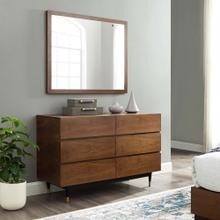 Caima 2 Piece Bedroom Set in Walnut