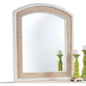 Fairwind Arched Seagrass Mirror