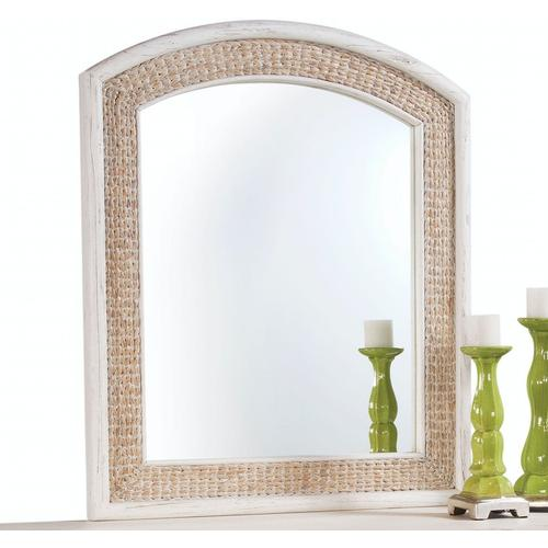 Gallery - Fairwind Arched Seagrass Mirror