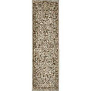 "Touchstone Portree Willow Grey 2' 4""x7' 10"" Runner"