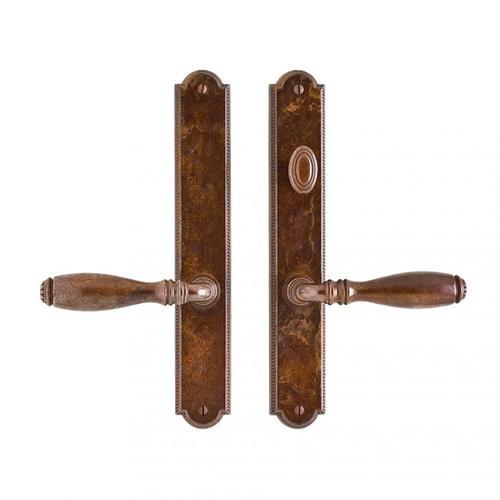 """Rocky Mountain Hardware - Ellis Multi-Point Patio Set - 1 3/4"""" x 11"""" White Bronze Light"""