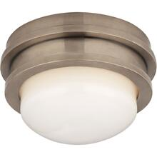 Visual Comfort CHC4600AN-WG E. F. Chapman Launceton LED 5 inch Antique Nickel Flush Mount Ceiling Light, Petite