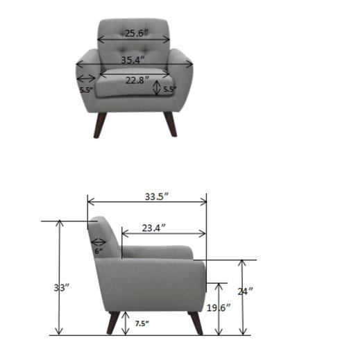 Daphne Teal Sofa & Chair, SWU6918