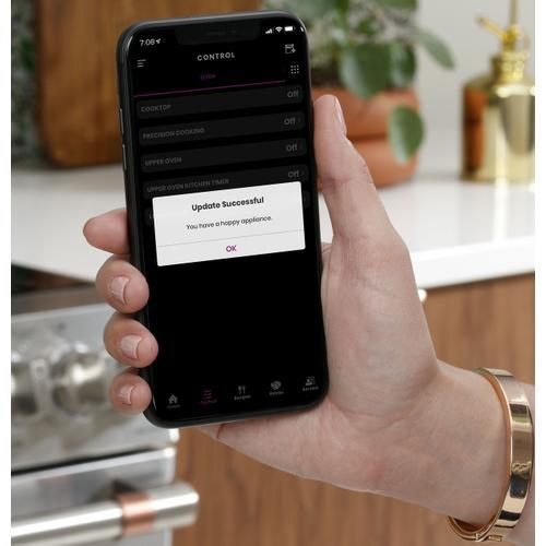 "Cafe - Café™ 30"" Smart Slide-In, Front-Control, Radiant and Convection Range"
