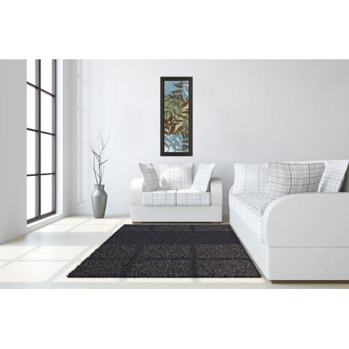 """Leaves Il"" Framed Print Wall Art"