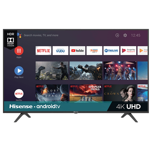 """55"""" Class - H6570 Series - 4K UHD Hisense Android Smart TV (2019) SUPPORT"""