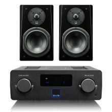 Prime Wireless SoundBase - SoundBase with Prime Bookshelf / Piano Gloss Black