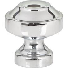 Malin Knob 1 1/8 Inch - Polished Chrome