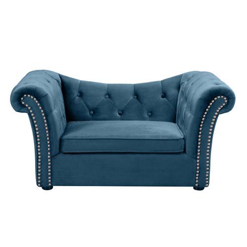 Tov Furniture - Dachshund Navy Pet Bed