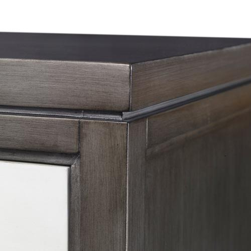 Ambella Home - Cassia Chest - Grey / Linen