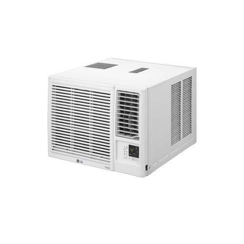 7,500 BTU Smart Wi-Fi Enabled Window Air Conditioner, Cooling & Heating