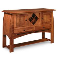 See Details - Aspen Sideboard with Wine Rack and Inlay