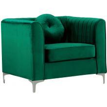 """Isabelle Velvet Chair - 38.5"""" W x 35.5"""" D x 31"""" H"""