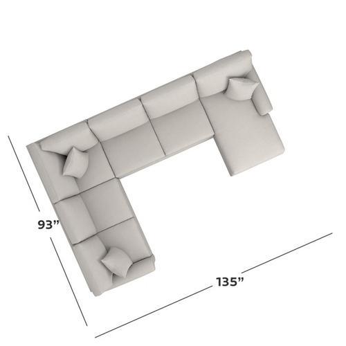 Bassett Furniture - Carolina Sock Arm U-Shaped Sectional