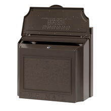 See Details - Wall Mailbox - French Bronze
