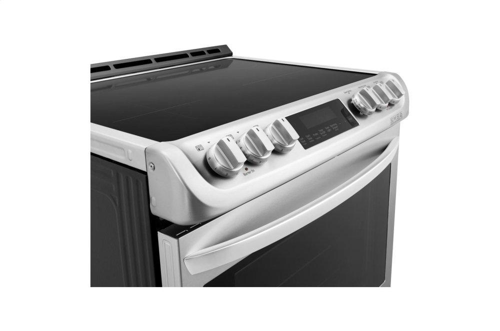 6.3 cu. ft. Smart wi-fi Enabled Induction Slide-in Range with ProBake Convection® and EasyClean® Photo #5