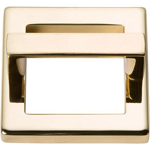 Tableau Square Base and Top 1 13/16 Inch (c-c) - French Gold