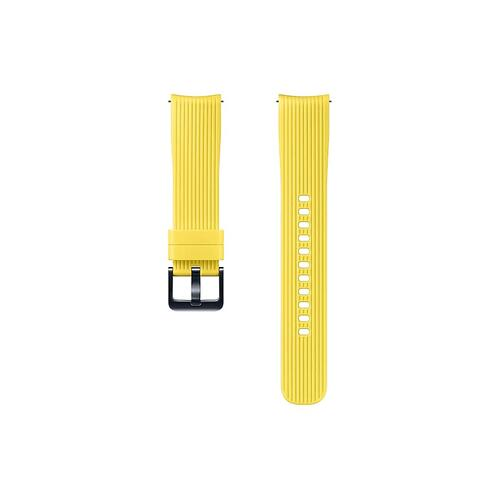 Silicone Band (20mm) Yellow