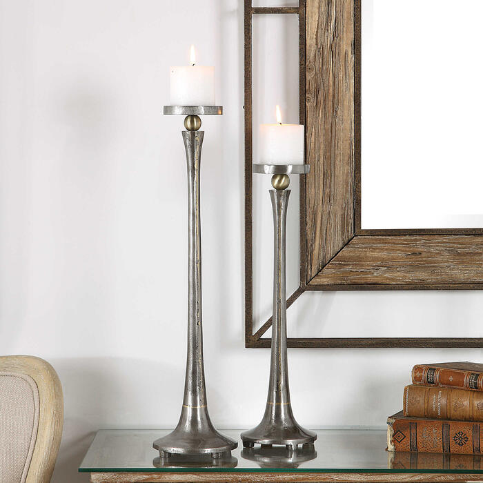 Uttermost - Aliso Candleholders, S/2