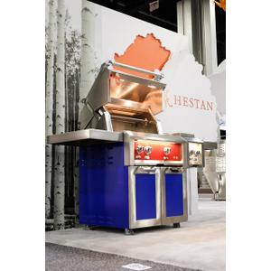 "30"" Hestan Outdoor Tower Cart with Double Doors - GCD Series - Tin-roof"