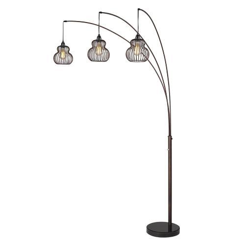 """90""""h 3-arm Arc Floor Lamp"""