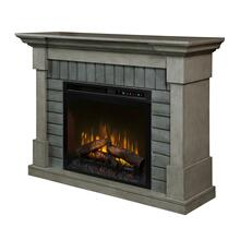 See Details - Royce Electric Fireplace Mantel