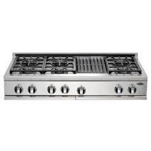 "48"" Cooktop, 6 Burner w/Grill"