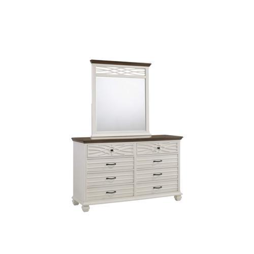 1058 Bellebrooke White Dresser