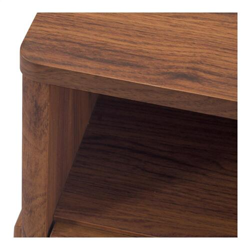Heaton KD Side/ End Table 1 Drawer, Walnut (ASSEMBLY REQUIRED)