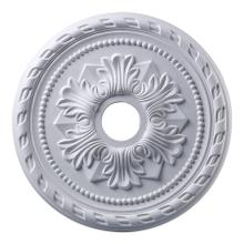 See Details - Corinthian Medallion 22 Inch in White Finish
