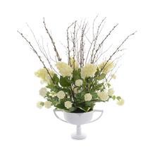 Willow and Hydrangeas