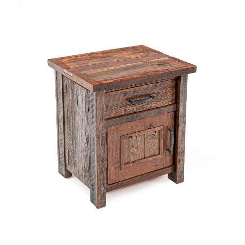 Copperhead 1 Drawer 1 Door Nightstand Hinged Left