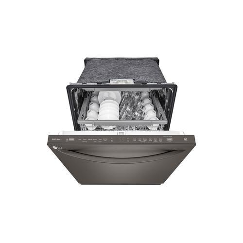 LG - Top Control Smart wi-fi Enabled Dishwasher with QuadWash™