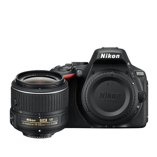 D5500 18-55mm VR II Lens Kit Black